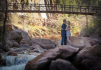 Sweethearts since highschool, Dakotah and Kaylyn enjoying a beautiful spring day in Eldorado Canyon.