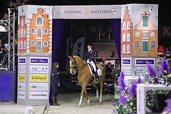 Bechtolsheimer Laura (GBR) - Mistral Hojris <br /> CDI-W Amsterdam 2010<br /> © Hippo Foto - Leanjo de Koster