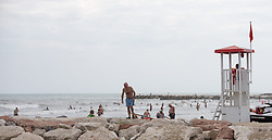 THEMENBILD - Blick ins Meer, aufgenommen am 23.08.2015 in Caorle, Italien // sea view in Caorle, Italia on 2015/08/23. EXPA Pictures © 2015, PhotoCredit: EXPA/ Jakob Gruber