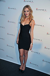GEORGIA MAY JAGGER at a party hosted by Rimmel London to celebrate the 10 year partnership with Kate Moss held at Battersea Power Station, London SW8 on 15th September 2011.