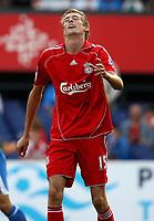 Photo: Maarten Straetemans.<br /> Shanghai Shenhua v Liverpool. Rotterdam Tournament. 03/08/2007.<br /> Peter Crouch (Liverpool)