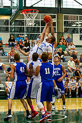 28 June 2014: Nathan Helle  2014 Boys Illinois Basketball Coaches Association All Start game at the Shirk Center in Bloomington IL