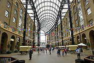 The Hay's Galleria on August 13, 2012 in London.