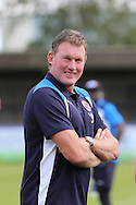 Ex-Wimbledon FC goalkeeper Dave Beasant during the Pre-Season Friendly match between AFC Wimbledon and Reading at the Cherry Red Records Stadium, Kingston, England on 23 July 2016. Photo by Stuart Butcher.