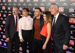 Graham Norton, Mel Giedroyc, Gary Barlow, Dannii Minogue and Martin Kemp attending the BBC Let It Shine launch, The Ham Yard Hotel, London. Picture Credit Should Read: Doug Peters/EMPICS Entertainment