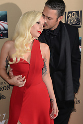 File photo - Lady Gaga and Taylor Kinney attend the premiere screening Of FX's American Horror Story: Hotel at Regal Cinemas L.A. Live on October 3, 2015 in Los Angeles, CA, USA. Lady Gaga and Taylor Kinney have split after five years together. The couple, who got engaged on Valentine's Day 2015, ended their relationship earlier this month. Photo by Lionel Hahn/ABACAPRESS.COM  | 518205_042 Los Angeles Etats-Unis United States