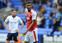 Fleetwood Town's Victor Nirennold looks in disbelief after missing a change to put Fleetwood level <br /> <br /> Photographer Ian Cook/CameraSport<br /> <br /> Football - The EFL Sky Bet League One - Bolton Wanderers v Fleetwood Town - Saturday 20 August 2016 - Macron Stadium - Bolton<br /> <br /> World Copyright © 2016 CameraSport. All rights reserved. 43 Linden Ave. Countesthorpe. Leicester. England. LE8 5PG - Tel: +44 (0) 116 277 4147 - admin@camerasport.com - www.camerasport.com