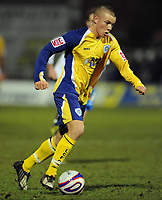 Tom Cleverley (Leicester) Hartlepool United vs Leicester City at Victoria Park Hartlepool Football League one<br /> 17/02/2009. Credit Colorsport / Darren Blackman