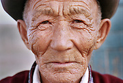 Jolon, an old man of 75, has been a herder all his life, his weather bitten face is testimony to the rigor of life in mongolia. Husbandry is the main livelihood in Mongolia, but was victim of severe drough in the past few years.