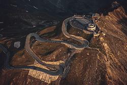 THEMENBILD - Sonnenaufgang über den Bergen bei der Edelweissspitze. Die Grossglockner Hochalpenstrasse verbindet die beiden Bundeslaender Salzburg und Kaernten und ist als Erlebnisstrasse vorrangig von touristischer Bedeutung, aufgenommen am 22. Juli 2019 in Fusch a. d. Grossglocknerstrasse, Österreich // Sunrise over the mountains at the Edelweiss peak. The Grossglockner High Alpine Road connects the two provinces of Salzburg and Carinthia and is as an adventure road priority of tourist interest, Fusch a. d. Grossglocknerstrasse, Austria on 2019/07/22. EXPA Pictures © 2019, PhotoCredit: EXPA/ JFK