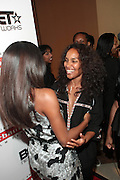 September 20, 2012- New York, New York:  (L-R) Actress Gabrielle Union and Television Writer/Producer Mara Brock Akil attend the 2012 Urbanworld Film Festival Opening night premiere screening of  ' Being Mary Jane ' presented by BET Networks held at AMC 34th Street on September 20, 2012 in New York City. The Urbanworld® Film Festival is the largest internationally competitive festival of its kind. The five-day festival includes narrative features, documentaries, and short films, as well as panel discussions, live staged screenplay readings, and the Urbanworld® Digital track focused on digital and social media. (Terrence Jennings)