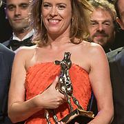 NLD/Utrecht/20181005 - L'OR Gouden Kalveren Gala 2018, Maria Kraakman wint Gouden Kalf