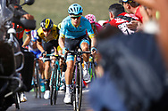 Miguel Angel Lopez (COL - Astana Pro Team), during the UCI World Tour, Tour of Spain (Vuelta) 2018, Stage 9, Talavera de la Reina - La Covatilla 200,8 km in Spain, on September 3rd, 2018 - Photo Luca Bettini / BettiniPhoto / ProSportsImages / DPPI