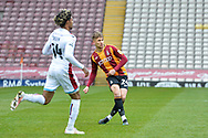 Finn Cousin-Dawson during the EFL Sky Bet League 2 match between Bradford City and Scunthorpe United at the Utilita Energy Stadium, Bradford, England on 1 May 2021.