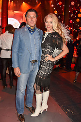 Giorgio Veroni and Tamara Beckwith at the Save The Children's Night of Country at The Roundhouse, London England. 2 March 2017.