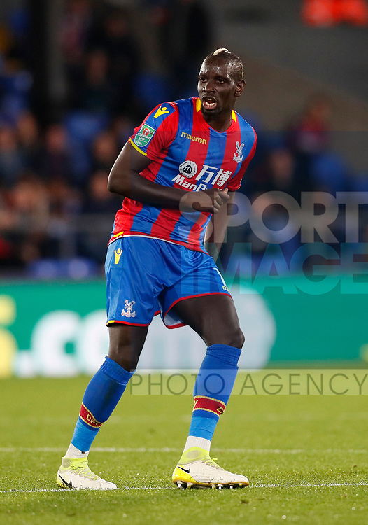 Crystal Palace's Mamadou Sakho in action during the Carabao cup match at Selhurst Park Stadium, London. Picture date 19th September 2017. Picture credit should read: David Klein/Sportimage
