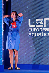 21-01-2020 HUN: European Water polo Championship, Budapest <br /> Slovakia - Netherlands 2—32 / Debby Willemsz #13 of Netherlands during LEN European Aquatics Waterpolo on January 21, 2020. SVK vs Netherlands in Duna Arena in Budapest, Hungary
