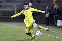 FOOTBALL - UEFA CHAMPIONS LEAGUE 2011/2012 - 1/8 FINAL - 1ST LEG - OLYMPIQUE LYONNAIS v APOEL FC - 14/02/2012 - PHOTO EDDY LEMAISTRE / DPPI - IVAN TRICKOVSKI (APOEL)