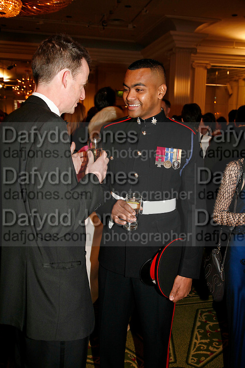 PRIVATE JOHNSON GIDEON BEHARRY VC, 17th Annual Book Awards, hosted by richard and Judy. grosvenor House. London. 29 March 2006. ONE TIME USE ONLY - DO NOT ARCHIVE  © Copyright Photograph by Dafydd Jones 66 Stockwell Park Rd. London SW9 0DA Tel 020 7733 0108 www.dafjones.com