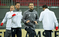 KAZAN, RUSSIA - Wednesday, November 4, 2015: Liverpool's head of fitness and science Ryland Morgans training at the Kazan Arena ahead of the UEFA Europa League Group Stage Group B match against FC Rubin Kazan. (Pic by Oleg Nikishin/Propaganda)