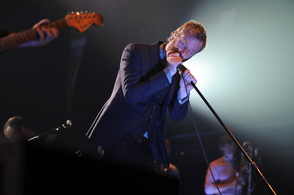 The National performing at SPIN's 25th anniversary concert series at Terminal 5, NYC. July 29, 2010. Copyright © 2010 Matt Eisman. All Rights Reserved.