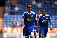 Photo: Pete Lorence.<br />Leicester City v Portsmouth. Pre Season Friendly. 04/08/2007.<br />Stephen Clemence during the match.