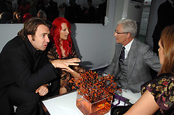 Left to right, JONATHAN ROSS, JANE GOLDMAN and PAUL O'GRADY at the 2008 Glamour Women of the Year Awards 2008 held in the Berkeley Square Gardens, London on 3rd June 2008.<br /><br />NON EXCLUSIVE - WORLD RIGHTS