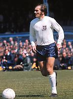 Terry Cooper (England) Northern Ireland v England 15/05/1971 .Windsor Park Credit Colorsport