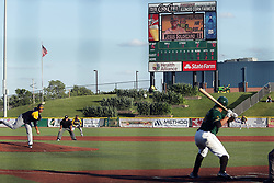 08 July 2017:  during a Frontier League Baseball game between the Traverse City Beach Bums and the Normal CornBelters at Corn Crib Stadium on the campus of Heartland Community College in Normal Illinois