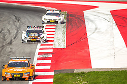 03.08.2014, Red Bull Ring, Spielberg, AUT, DTM Red Bull Ring, Renntag, im Bild Marco Wittman, (GER, 1. Platz, Rennen, Ice-Watch BMW M4 DTM), Jamie Green, (GBR, Hoffmann Group Audi RS 5 DTM), Martin Tomczyk, (GER, BMW M Performance Zubehoer M4 DTM) // during the DTM Championships 2014 at the Red Bull Ring in Spielberg, Austria, 2014/08/03, EXPA Pictures © 2014, PhotoCredit: EXPA/ M.Kuhnke