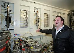 29.01.2013, Schladming, AUT, FIS Weltmeisterschaften Ski Alpin, Schladming 2013, Vorberichte, im Bild Christian Steiner, Hohenhaus Tenne, mit Getränkeanschlüssen und -leitungen am 29.01.2013 // Christian Steiner, Hohenhaus Tenne on 2013/01/29, preview to the FIS Alpine World Ski Championships 2013 at Schladming, Austria on 2013/01/29. EXPA Pictures © 2013, PhotoCredit: EXPA/ Martin Huber