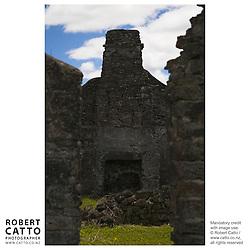Edmonds Ruins Historic Reserve, Bay of Islands, Northland, New Zealand.<br />