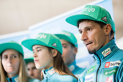 Robert Kranjec during press conference of Slovenian Nordic Ski team before new season 2017/18, on November 14, 2017 in Gorenje, Ljubljana - Crnuce, Slovenia. Photo by Vid Ponikvar / Sportida
