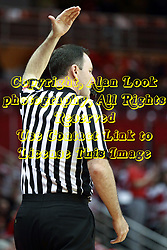 28 January 2015:   Brad Gaston pats his head indicating the shot clock expired during an NCAA MVC (Missouri Valley Conference) men's basketball game between the Missouri State Bears and the Illinois State Redbirds at Redbird Arena in Normal Illinois