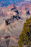 United States, Arizona, Grand Canyon. Hermits Rest, the western end of Hermit Road at the West south rim of the Canyon.