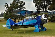 1932 Waco UBF-2 at 2015 WAAAM Traffic Jam.