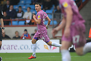 GOAL Ollie Rathbone turns away after making it 2-1 during the EFL Sky Bet League 1 match between Scunthorpe United and Rochdale at Glanford Park, Scunthorpe, England on 8 September 2018.