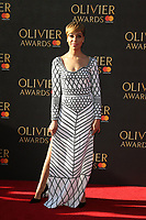 Cush Jumbo, The Olivier Awards, Royal Albert Hall, London UK, 09 April 2017, Photo by Richard Goldschmidt