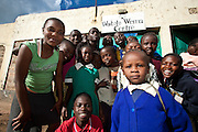 Nairobi, June 2010 - At the Watoto Wema children's home.