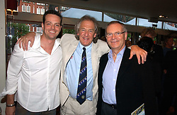 Left to right, JAMES MAJOR, DAVID ENGLISH and LORD ARCHER at a party to celebrate the publication on 'Confessions of a Dedicated Englishman' by David English held at the Lord's Tavern, St.John's Wood Road, London on 8th May 2006.<br /><br />NON EXCLUSIVE - WORLD RIGHTS