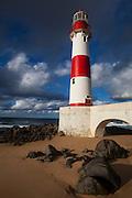 Salvador_BA, Brasil.<br /> <br /> Farol de Itapua ou Ponta de Itapua na Praia de Itapua em Salvador, Bahia.<br /> <br /> Itapua Lighthouse in Itapua beach in Salvador, Bahia.<br /> <br /> Foto: RODRIGO LIMA / NITRO