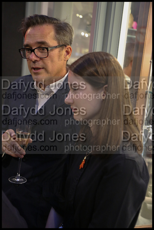STEVE ORMANDY; CAMILLE ORMANDY, Dinosaur Designs launch of their first European store in London. 35 Gt. Windmill St. 18 September 2014