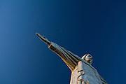 Pocos de Caldas_MG, Brasil...Replica da estatua de Cristo Redentor em Pocos de Caldas...The reply of Christ Redeemer statue in Pocos de Caldas...Foto: JOAO MARCOS ROSA /  NITRO