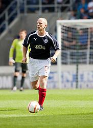 Falkirk's Chris Smith..Falkirk v Raith Rovers, 18/8/2012..