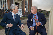 MARTIN LUTYENS; SIR TERENCE CONRAN, Perdurity: A Moving Banquet of Time. Royal Salute curates a timeless evening at Hampton Court Palace with Marcos Lutyens, 2 June 2015.