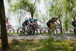 Lucy Garner (GBR) and Marta Tagliaferro (ITA) at Tour of Chongming Island 2019 - Stage 1, a 102.7 km road race on Chongming Island, China on May 9, 2019. Photo by Sean Robinson/velofocus.com