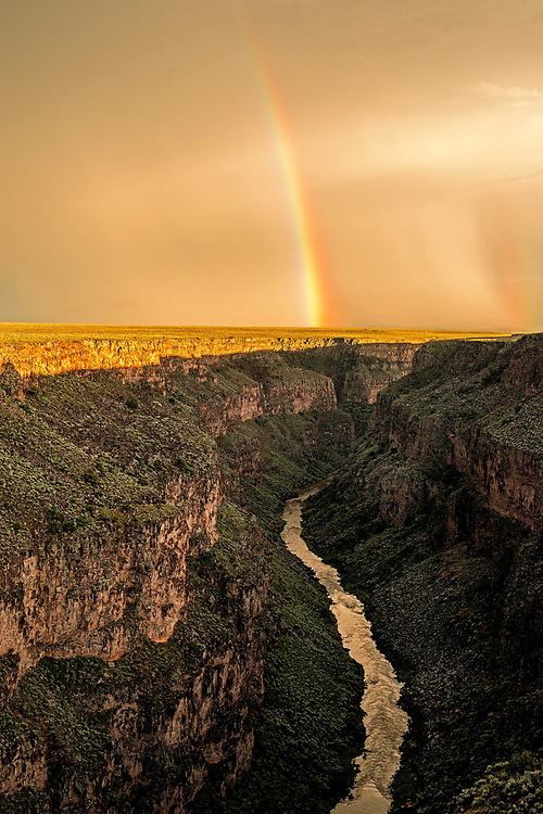 In Taos, New Mexico, people stop whatever they're doing and collectively step outside to witness natural phenomena. This was one of those inspired moments when even children were awestruck by the beauty and power of the earth and sky. Rio Grande del Norte National Monument