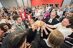 """5 June 2018, Novi Sad, Serbia: Sending service. The Conference of European Churches General Assembly takes place on 31 May - 6 June 2018, in Novi Sad, Serbia. More than 400 delegates, advisors, stewards, youth, staff, and distinguished guests take part in the 2018 General Assembly and related events. Gathered together under the theme, """"You shall be my witnesses,"""" the assembly forges the path for CEC for the coming five-year period and beyond. Of central concern is the future of Europe in light of economic, political, and social crises and how the churches will live out a vision of witness, justice, and hospitality within this context."""
