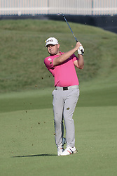 August 10, 2018 - Town And Country, Missouri, U.S - TYRRELL HATTON from England hits from the fairway during round two of the 100th PGA Championship on Friday, August 10, 2018, held at Bellerive Country Club in Town and Country, MO (Photo credit Richard Ulreich / ZUMA Press) (Credit Image: © Richard Ulreich via ZUMA Wire)