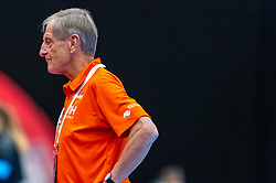 Ass. Coach Harrie Weerman of Netherlands in action during the Women's EHF Euro 2020 match between Netherlands and Germany at Sydbank Arena on december 14, 2020 in Kolding, Denmark (Photo by RHF Agency/Ronald Hoogendoorn)